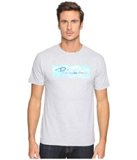Primitive Continental Tee Athletic Heather Men's T Shirt Gray