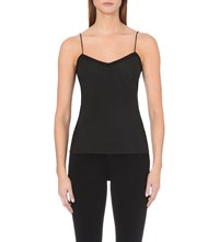 Ted Baker Scalloped Crepe Camisole Black