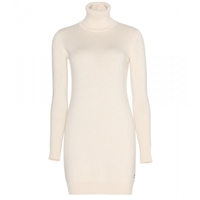 Loro Piana Glace Cashmere Sweater Dress Ivory