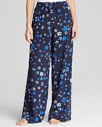 Dkny Floral Pajama Pants Royal Navy Floral