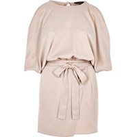 River Island Womens Light Pink Cold Shoulder Playsuit
