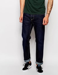 Blend Of America Blend Jeans Storm Straight Fit 16 Dip Wash Darkresin