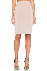 Beautiful People Pencil Skirt Taupe