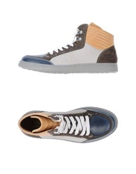 Barracuda High Top Sneakers Beige