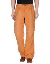 Jaggy Casual Pants Orange