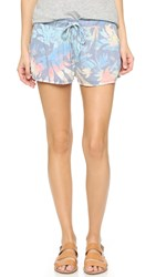 Sol Angeles Orchid Garden Knit Shorts