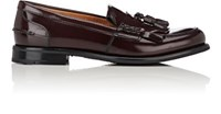 Church's Women's Omega Polished Leather Loafers Burgundy
