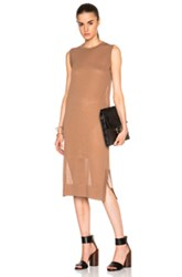 Soyer Sleeveless Tunic In Brown
