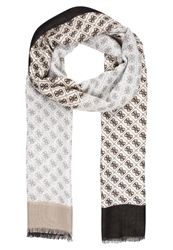 Guess Field Of Dreams Scarf Black