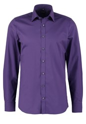 Olymp Level 5 Body Fit Formal Shirt Purple