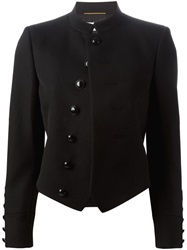 Saint Laurent Military Style Jacket Black