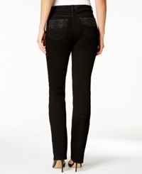 Charter Club Prescott Embellished Bootcut Jeans Only At Macy's Saturated Black