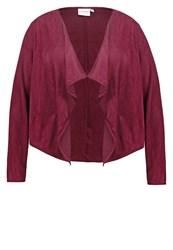 Junarose Jrsitt Blazer Fudge Dark Red
