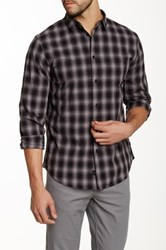 Globe Plaid Stokes Shirt Black