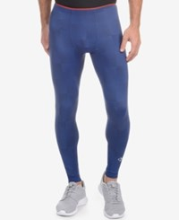 2Xist 2 X Ist Men's Performance Leggings Estate Blue