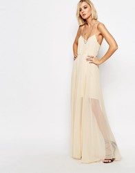 Religion Nude Social Maxi Dress Nude Pink