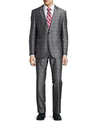Hugo Boss Grand Central Two Piece Wool Blend Suit Medium Bei