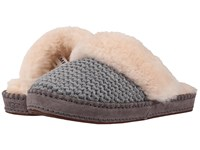 Ugg Aria Knit Grey Women's Slippers Gray