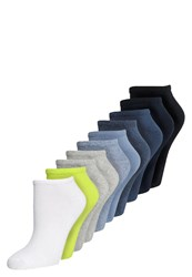 S.Oliver 10 Pack Socks Lime Stone Mix Light Green