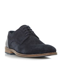 Howick Babbits Mixed Material Gibson Shoes Navy