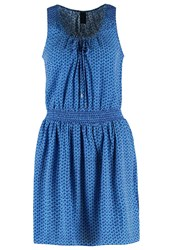 Gap Summer Dress Blue Dark Blue