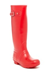 West Blvd Shoes Seattle Mid Calf Rain Boot Red