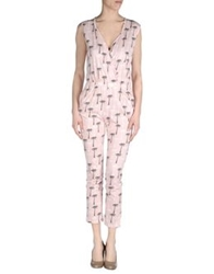 Circus Hotel Pant Overalls Pink
