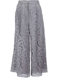 Adam By Adam Lippes Adam Lippes Wide Leg Culottes Grey