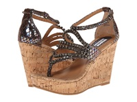Not Rated Twin Lakes Brown Women's Wedge Shoes