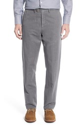 Men's John W. Nordstrom Tailored Fit Chinos Grey Brindle