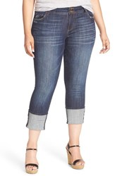 Kut From The Kloth Plus Size Women's 'Cameron' Stretch Straight Leg Jeans