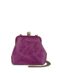 Hobo Libby Mini Crossbody Frame Bag Violet
