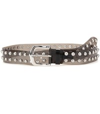Isabel Marant Ceinture Embellished Transparent Belt Grey