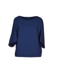 European Culture Sweatshirts Blue