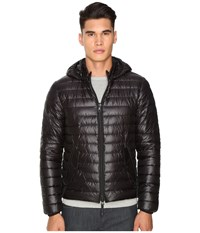 Duvetica Troilo Quilted Down Hooded Jacket Allblack