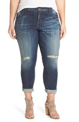 Kut From The Kloth Plus Size Women's 'Catherine' Ripped Boyfriend Jeans Commitment
