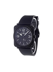 Bell And Ross 'Br S Quartz Black' Analog Watch