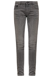 Earnest Sewn Jane Slim Fit Jeans Willow Grey Grey Denim
