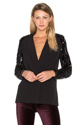 Hoss Intropia Embellished Blazer Black