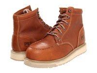 Timberland Barstow Wedge Safety Toe Rust Men's Work Boots Red
