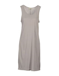 Essentiel 3 4 Length Dresses Light Grey