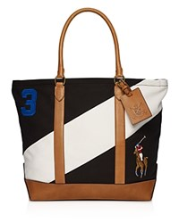 Polo Ralph Lauren Blackwatch Tote Black White