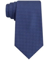 Club Room New Equity Check Tie Navy