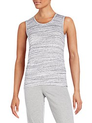 Candc California Denise Space Dye Tank Heather Grey