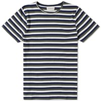 Oliver Spencer Conduit Stripe Tee Green