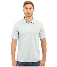Threads For Thought The Blake Polo Sky Blue Men's Clothing
