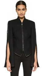 Gareth Pugh Zip Sleeve Coat Black