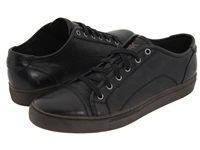 Frye Justin Low Lace Black Vintage Leather Men's Lace Up Casual Shoes
