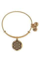 Women's Alex And Ani 'Endless Knot' Bangle Bracelet Gold
