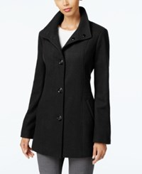 Inc International Concepts Stand Collar Peacoat Only At Macy's Black